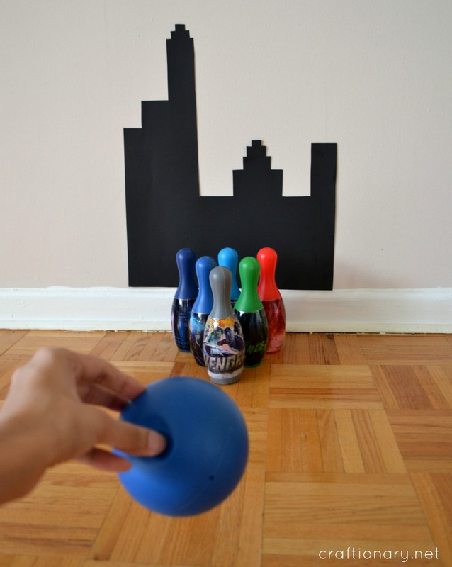 DIY bowling game idea