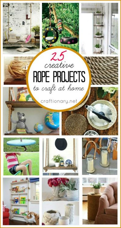DIY rope projects