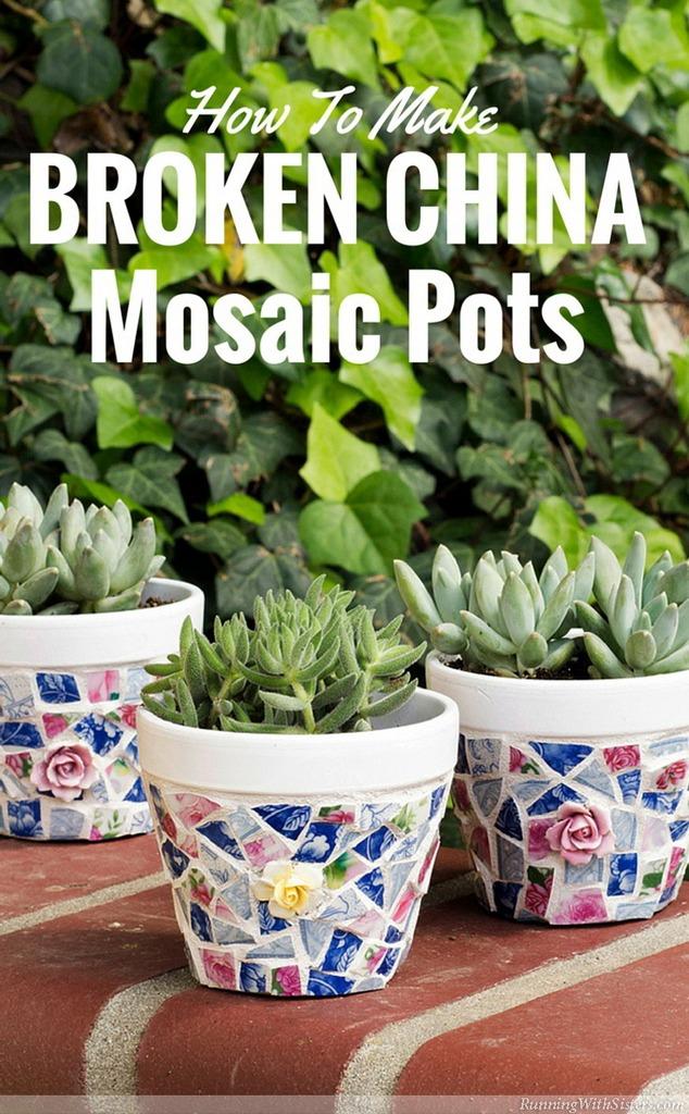 Make-broken-china-pots