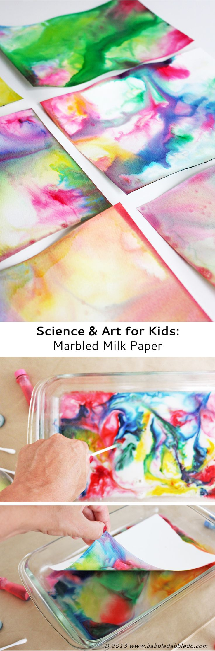 Marble-milk-paper-art