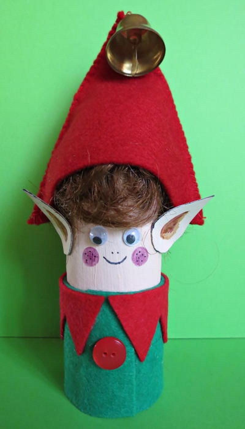 Toilet Paper Elf