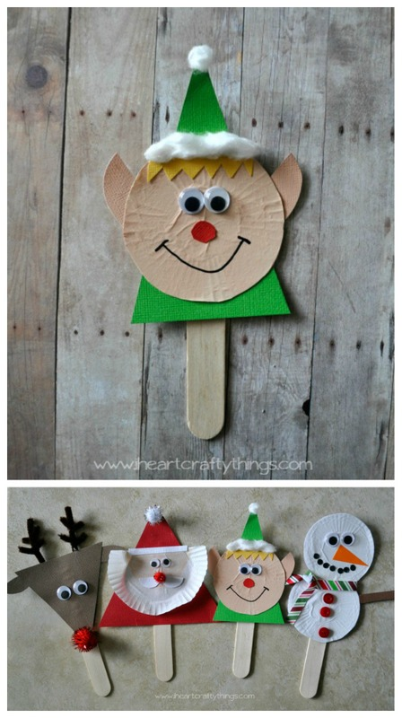 Elf puppet for kids