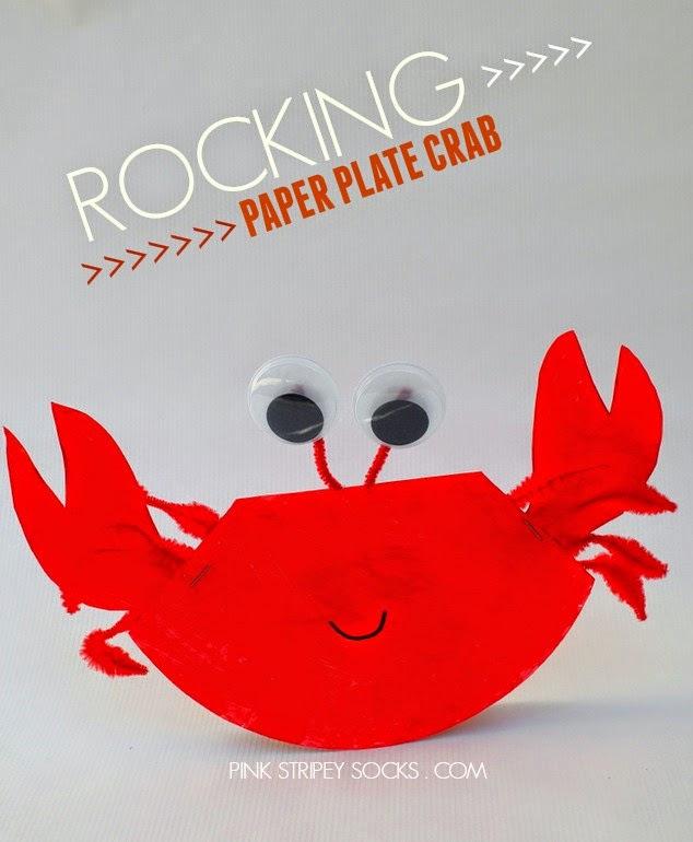 ROCKING PAPER PLATE CRAFT