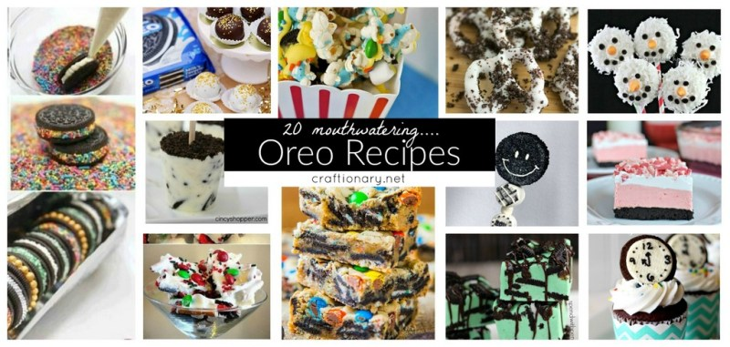 Best oreo cookie recipes at craftionary.net