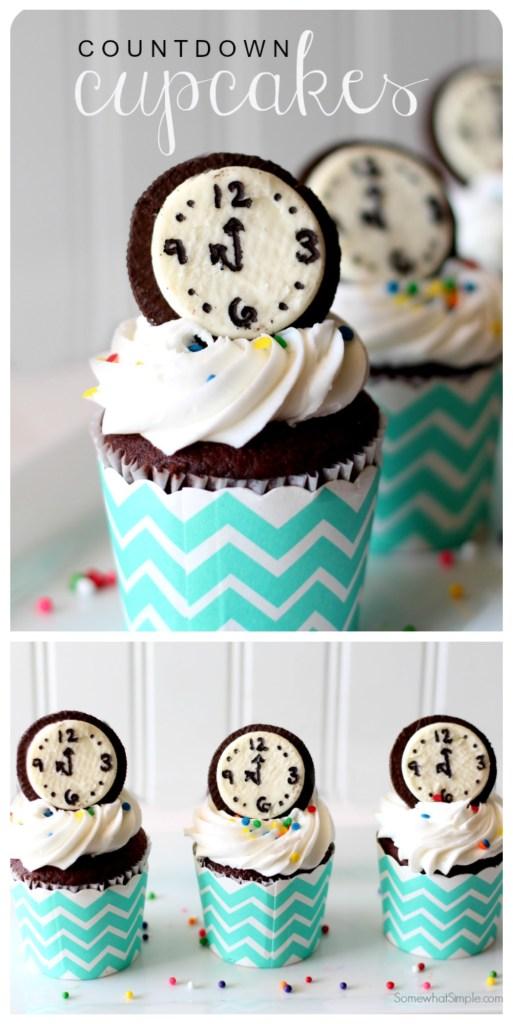Countdown oreo cupcakes
