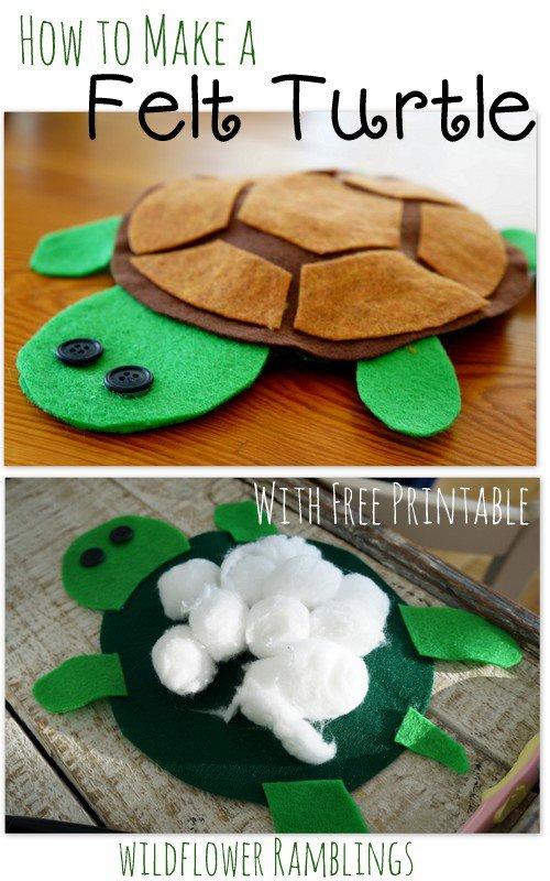 felt sea turtle