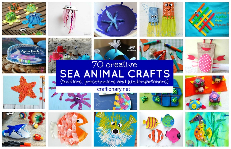 Ocean creature crafts for kids