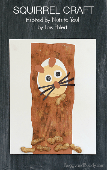 Squirrel craft for kids