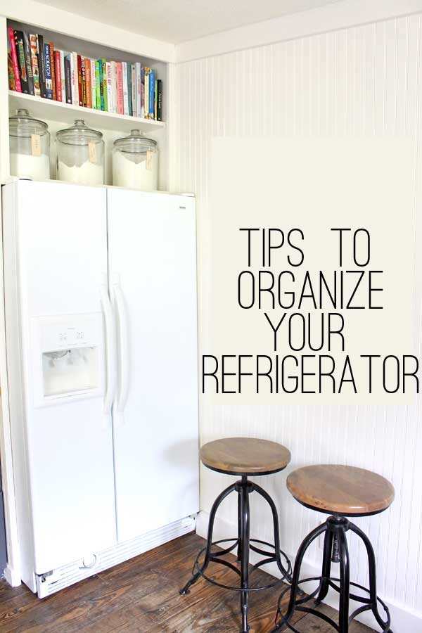 tips to organize your refregerator