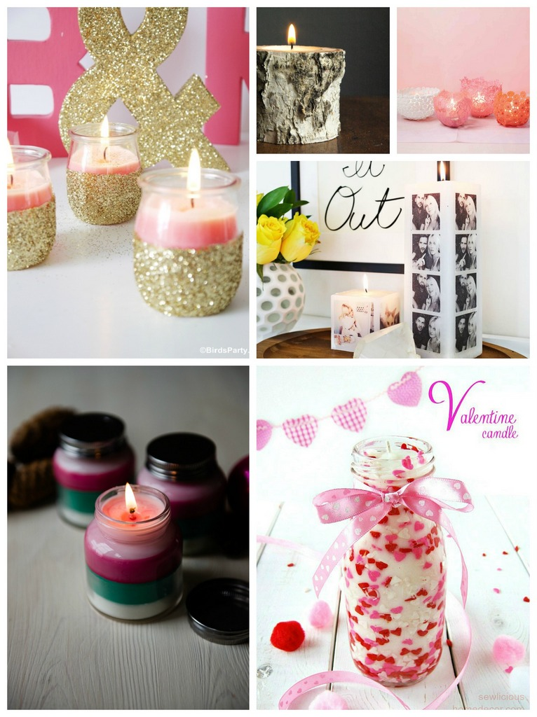 Valentines day candle gifts