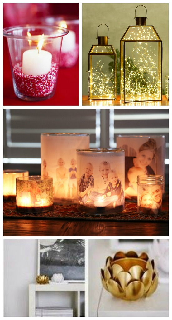 Valentine's day luminaries