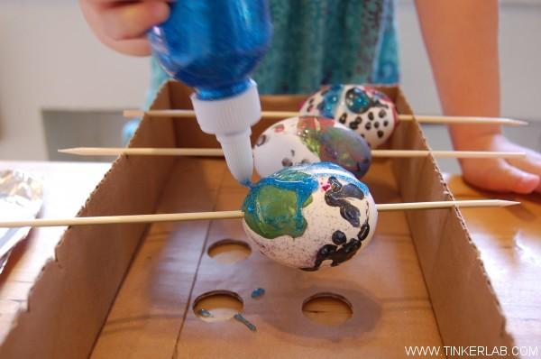 Painting egg kit