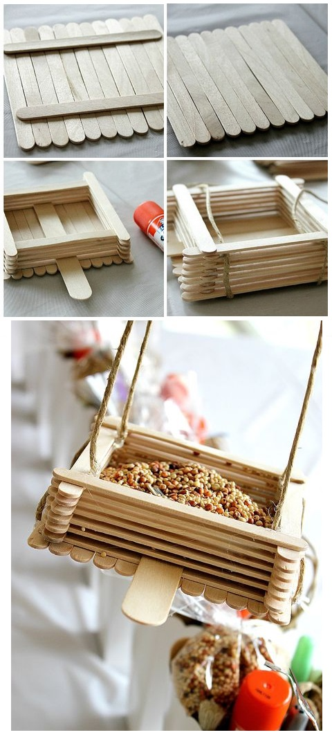 DIY bird feeder tutroial