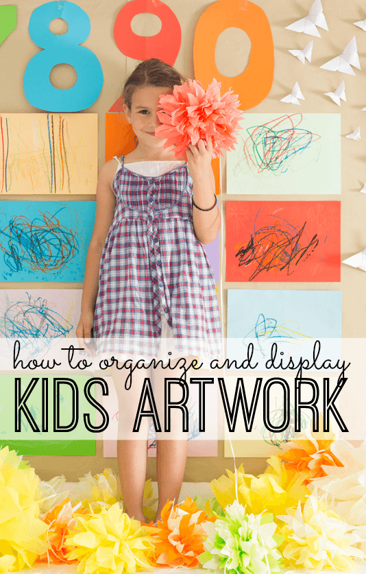 kids art work organization