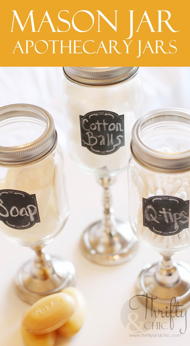 mother's day apothecary jars