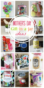 Mothers day gift in a jar ideas