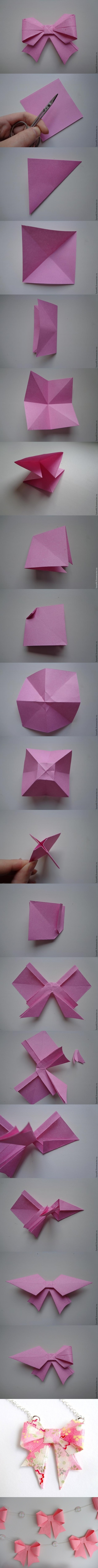 Paper-Bow-Making