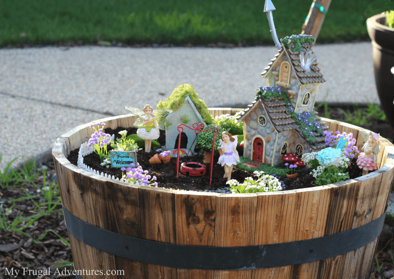 How to start a fairy garden?
