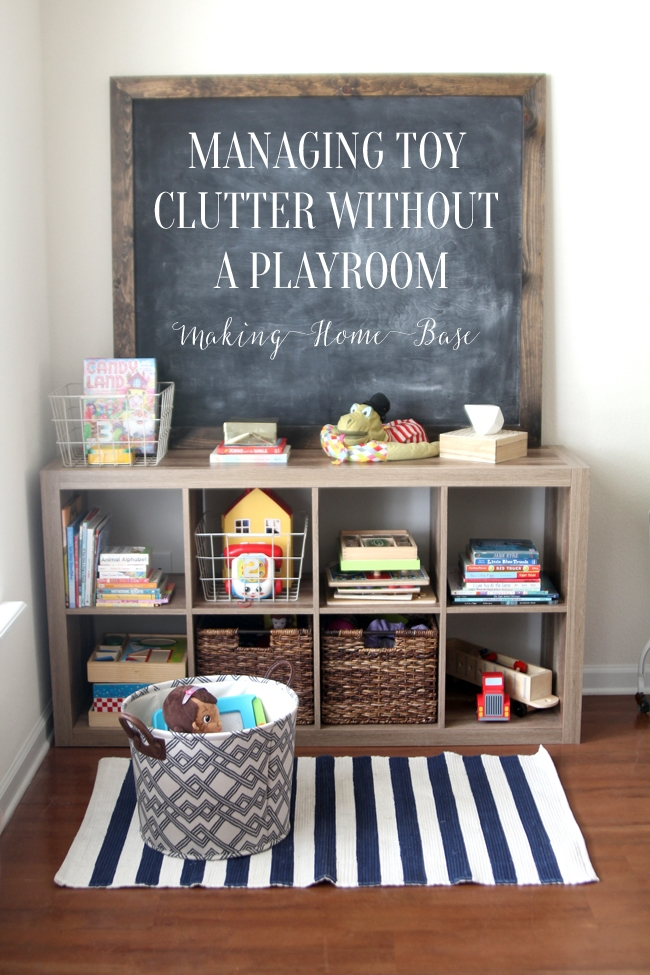 managing-toy-clutter-without-playroom-bedroom-bookcase-storage