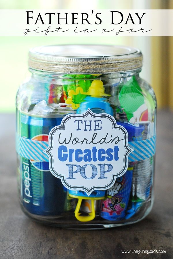 best gift jar ideas for father