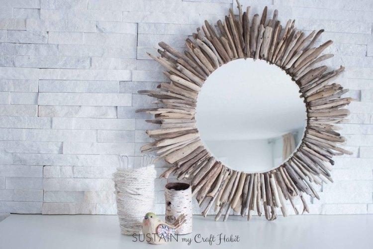 beach inspired mirror