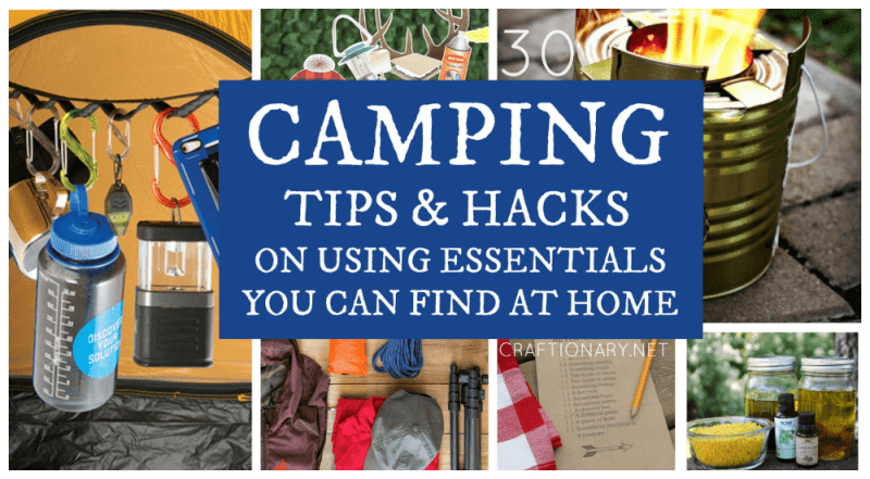 Camping tips and hacks at craftionary.net