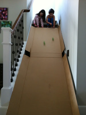 Cardboard-box-slide