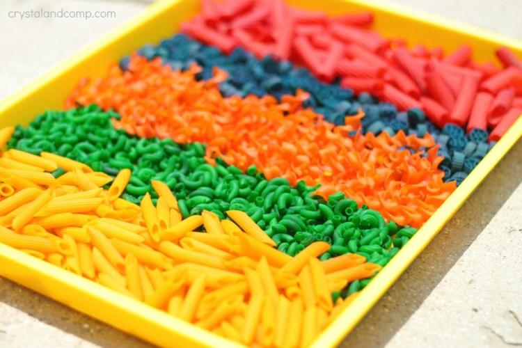 rainbow-pasta-crafts