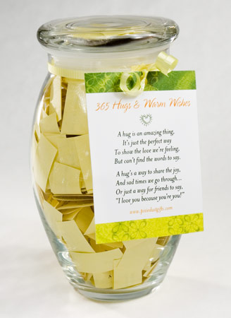 warm wishes gift jar