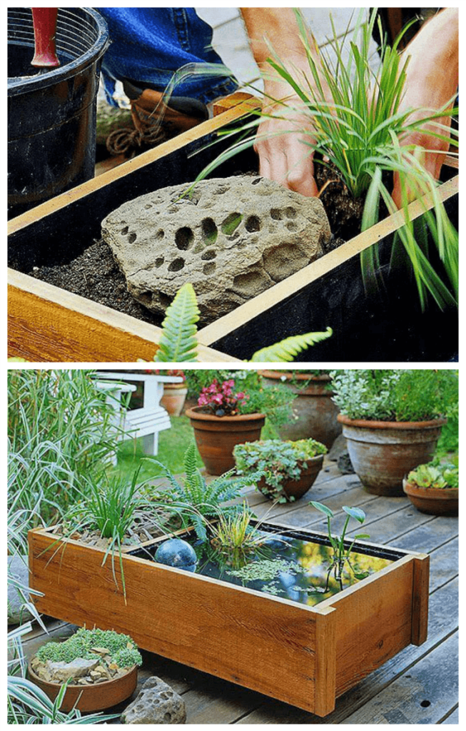 How to make a diy water gardens tutorial