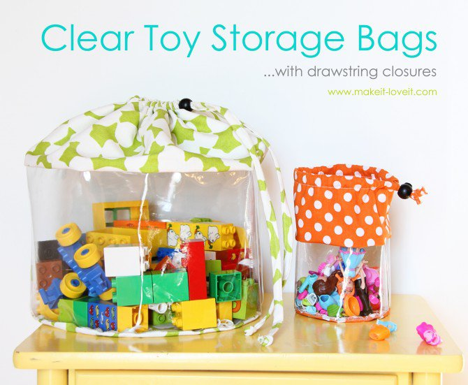 kids-bedroom-solutions-clear-toy-storage-bags-drawstring-closures