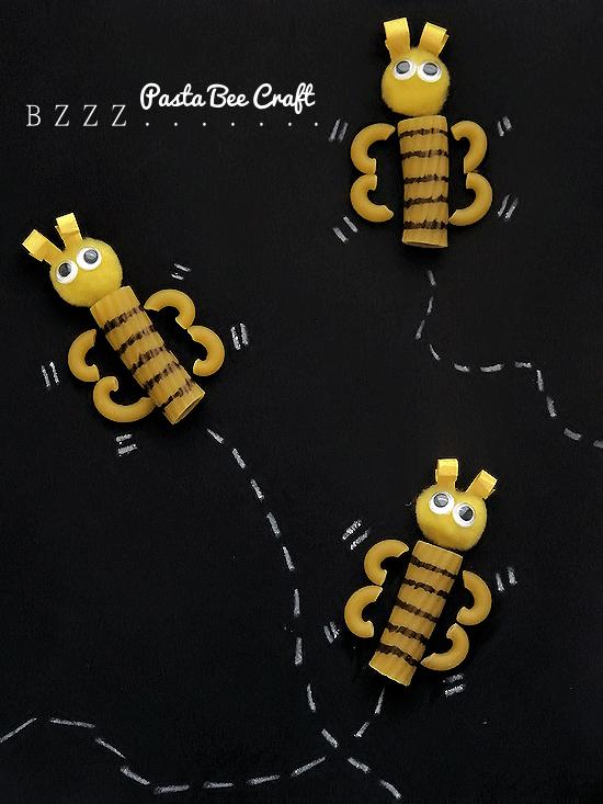 Pasta-bee-craft