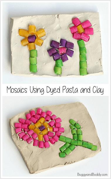 pasta-mosaic-art