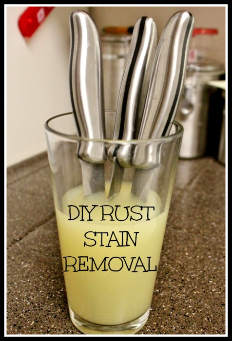 rust removal hacks