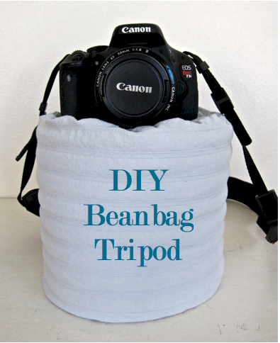 DIY bean bag tripod