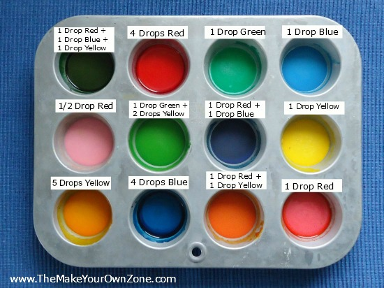 DIY watercolor paints Best Homemade Paint Recipes