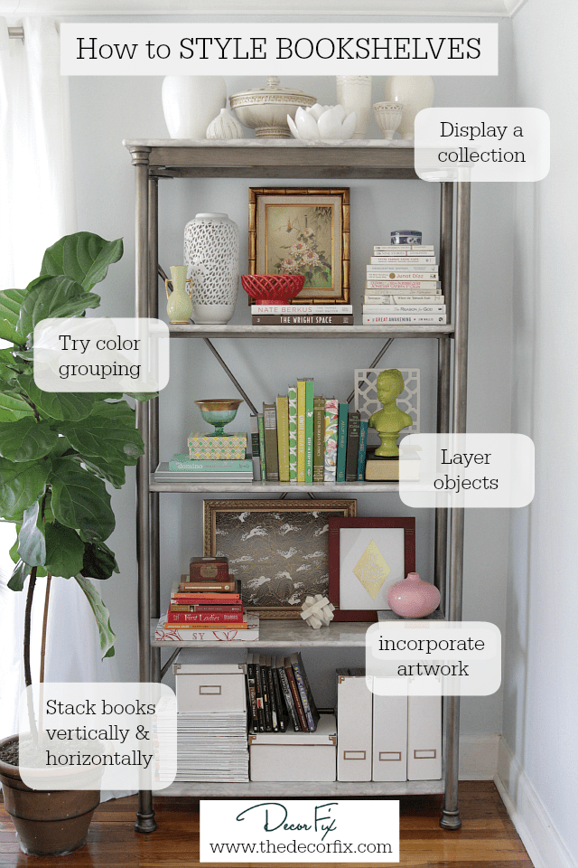 How to style bookshelves Styling bookshelves and bookcases