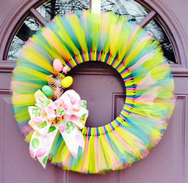 Best tulle wreath