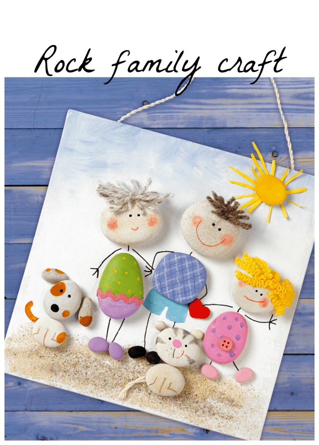 Rock-family-craft-rock-painting