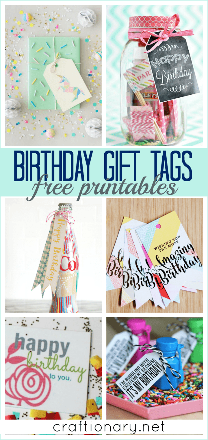 This is an image of Free Printable Birthday Labels throughout buffet table