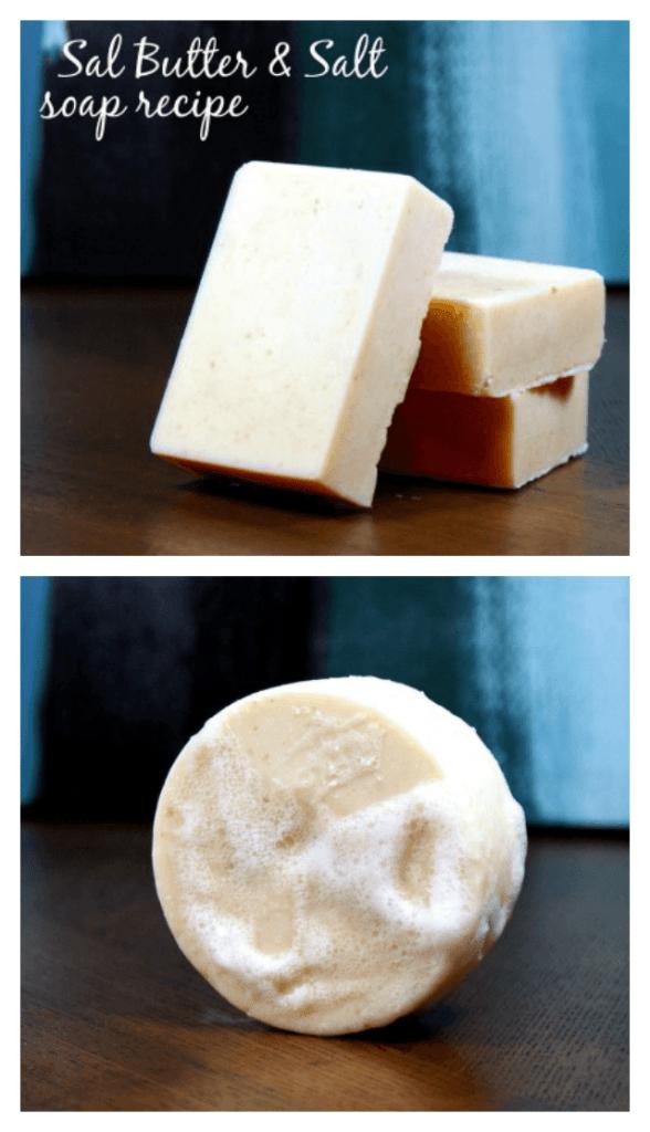 Butter salt soap recipe