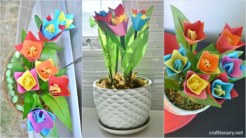 decorate-with-paper-tulips