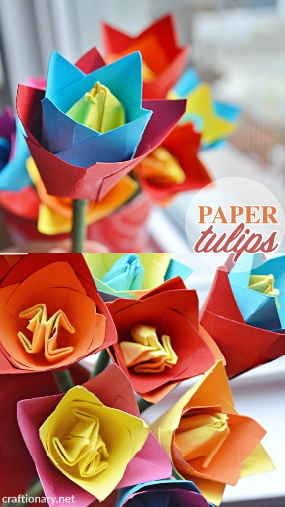 origami-tulip-flower-craft