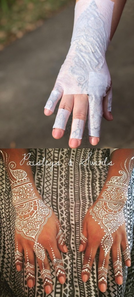 white-henna