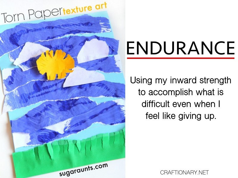 endurance-torn-paper-process-art-kids-texture-sky-and-sun-craftionary