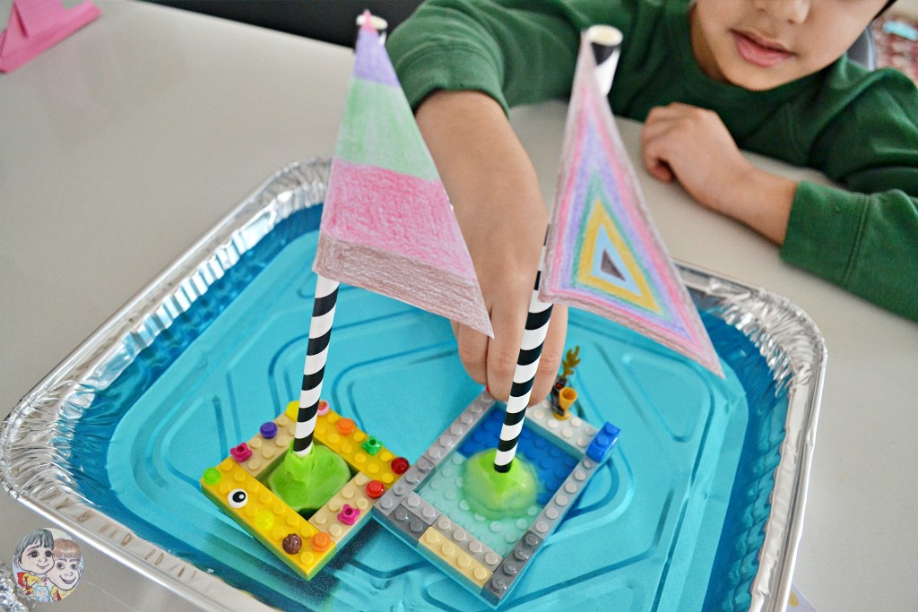 floating-boat-science-experiment-lego-boats-with-flags