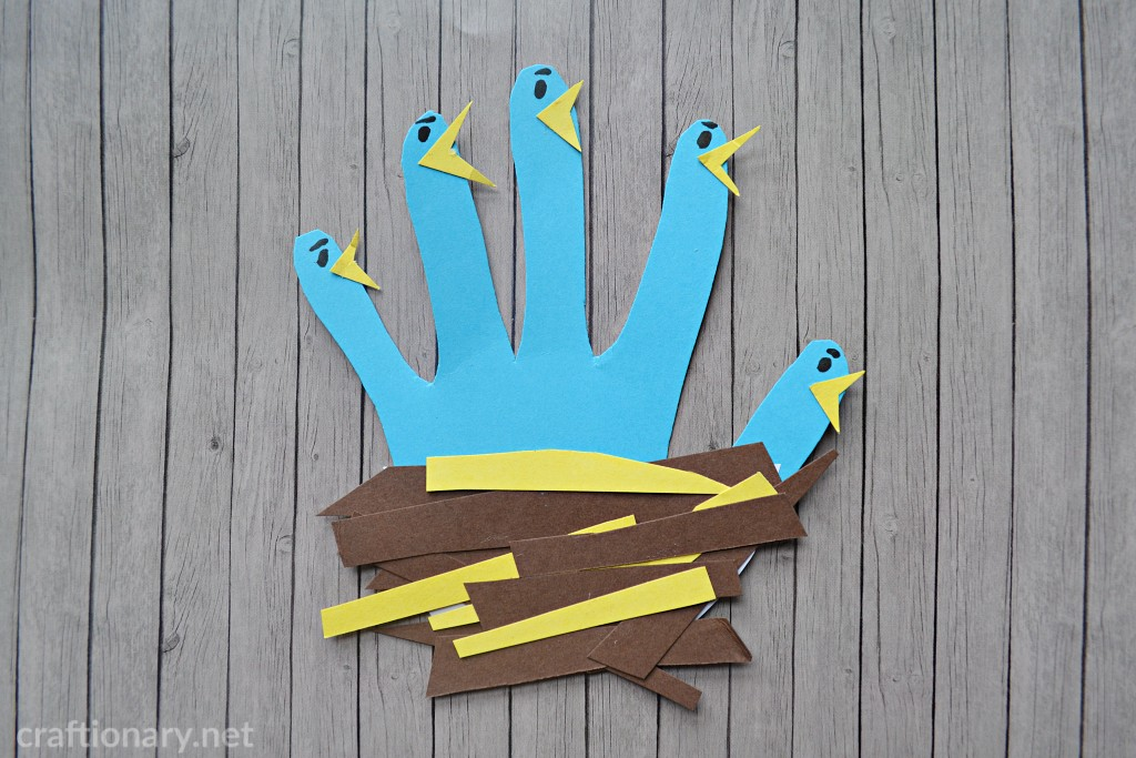 handprint-craft-paper-bird-in-nest