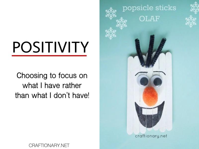 positivity-popsicle-sticks-olaf-snoman-character-trait-crafts-activities