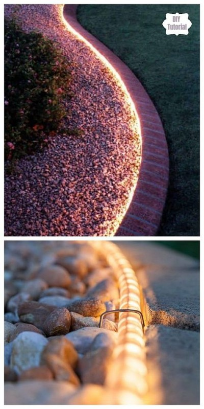 diy-outdoor-lights-using-rope-lights-seedbeds-pathways