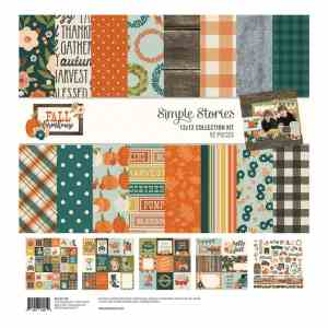 Simple Stories – Fall Farmhouse Collection Kit 12×12